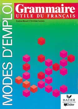 Grammaire Utile Du Francais Livre Didier Fle