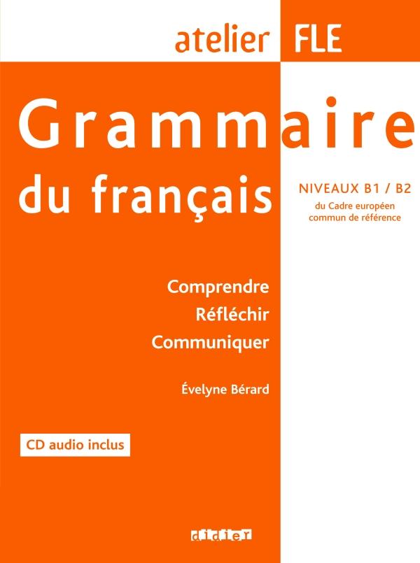 Grammaire Du Francais Niveau B1 B2 Livre Cd Didier Fle