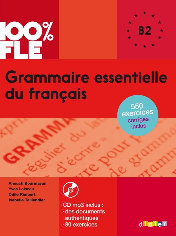 Grammaire Essentielle Du Francais Niv B2 Livre Cd