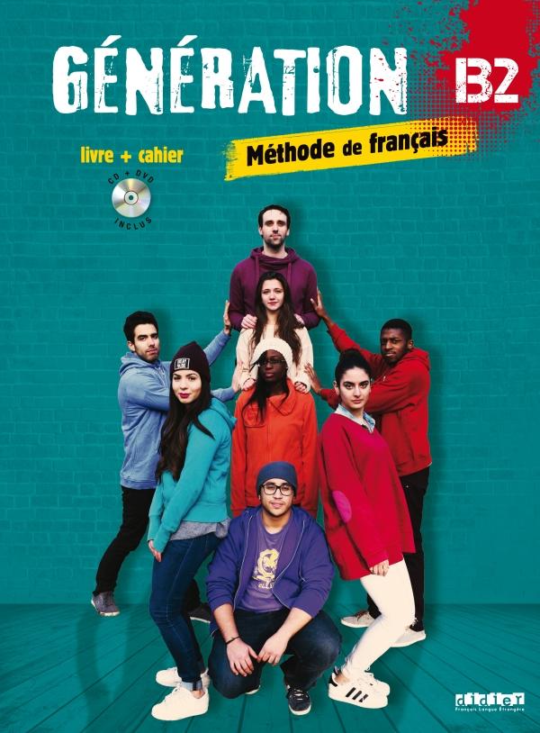 Generation 4 Niv B2 Livre Cahier Cd Mp3 Dvd
